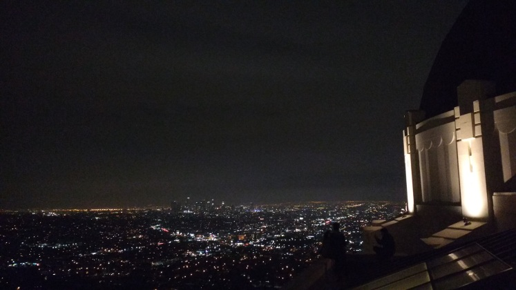 Downtown LA at night, as seen from Griffith Observatory. Original Photograph. December 2015..jpg